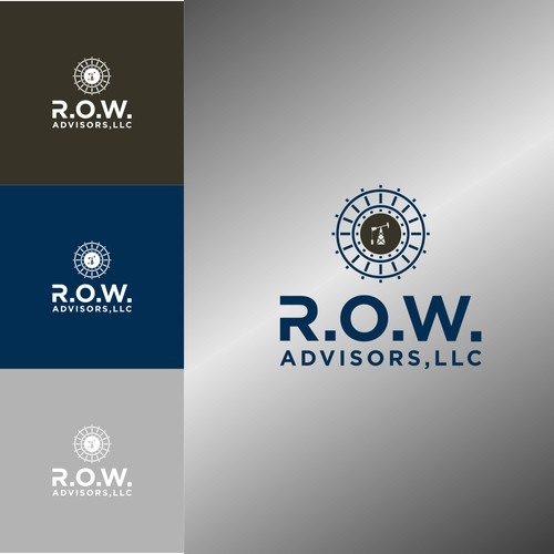 Design an industrial logo for a niche real estate firm