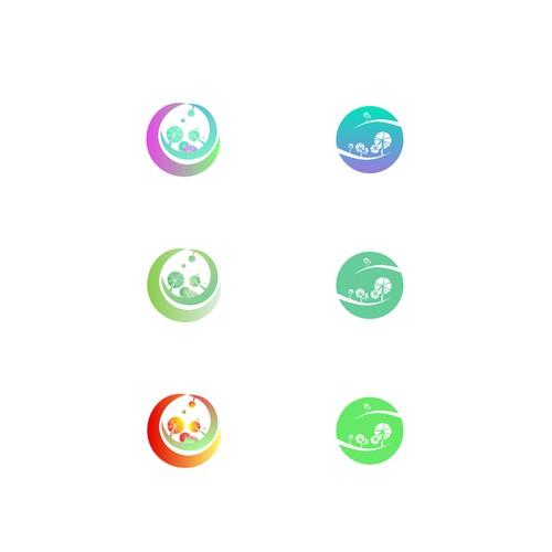 Logo for ecological landscape designers network