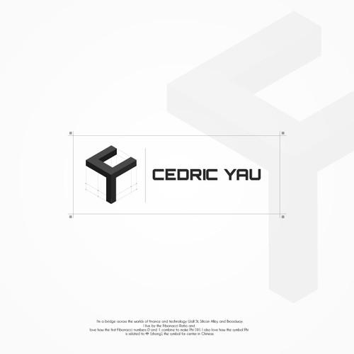 Clean logo for Cedric Yau