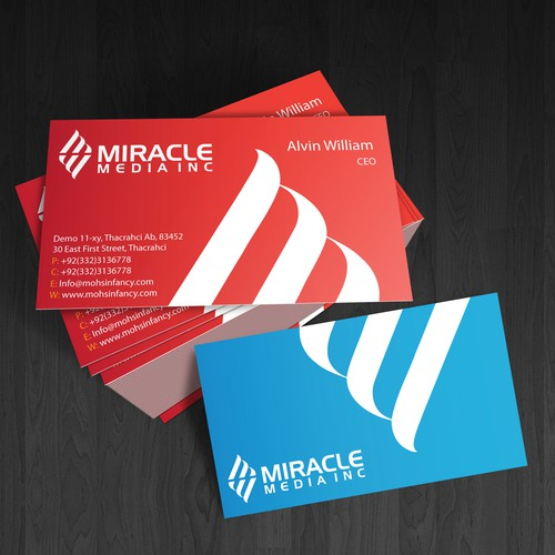 **Looking for uncommon but professional business card designs**