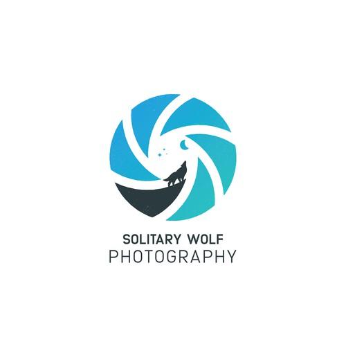 Solitary Wolf Logo