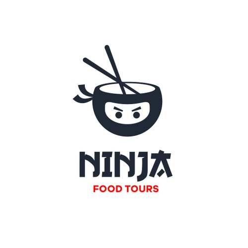 Ninja Food Tours Logo