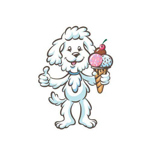 Mascot for an Ice Cream company