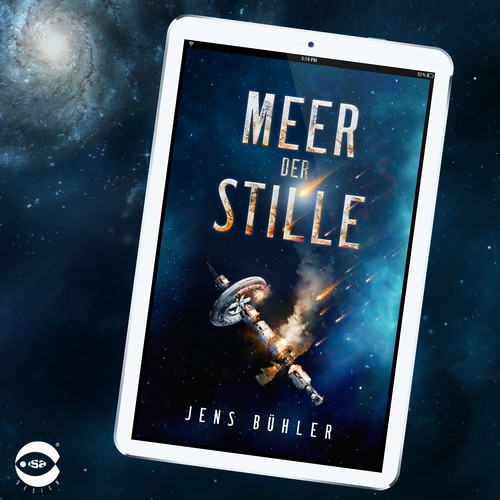 "eBook cover for ""Meer der Stille"" by Jens Bühler"