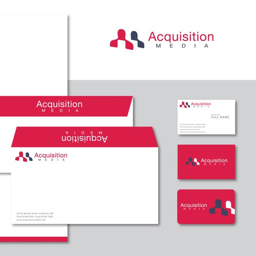 Professional Logo & Identity for Customer Acquisition Company