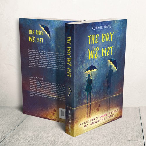 "Book cover for ""The Day We Met"""