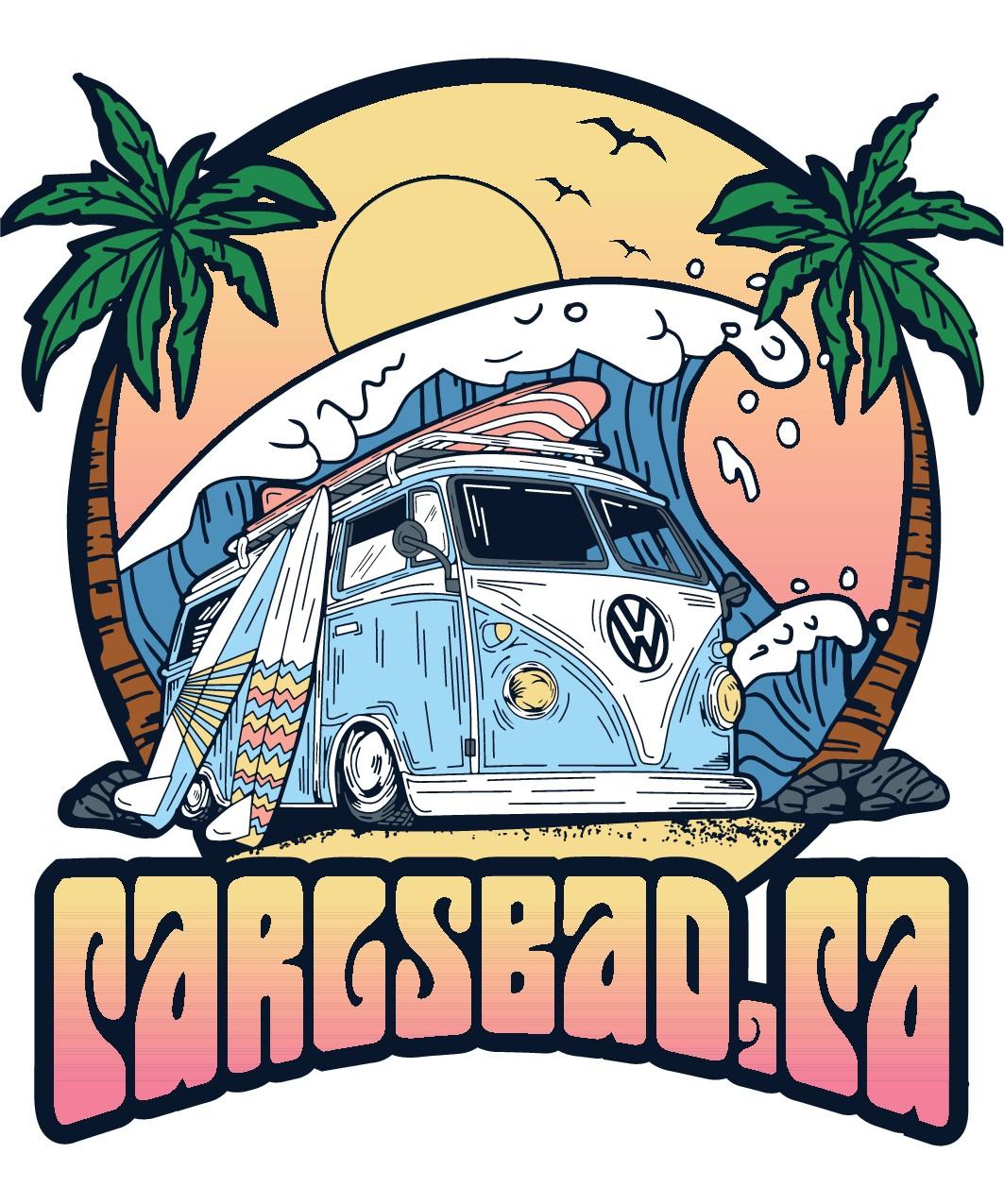 Design a beach design for Carlsbad,Ca