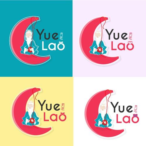 Concepto de logo para una plataforma china