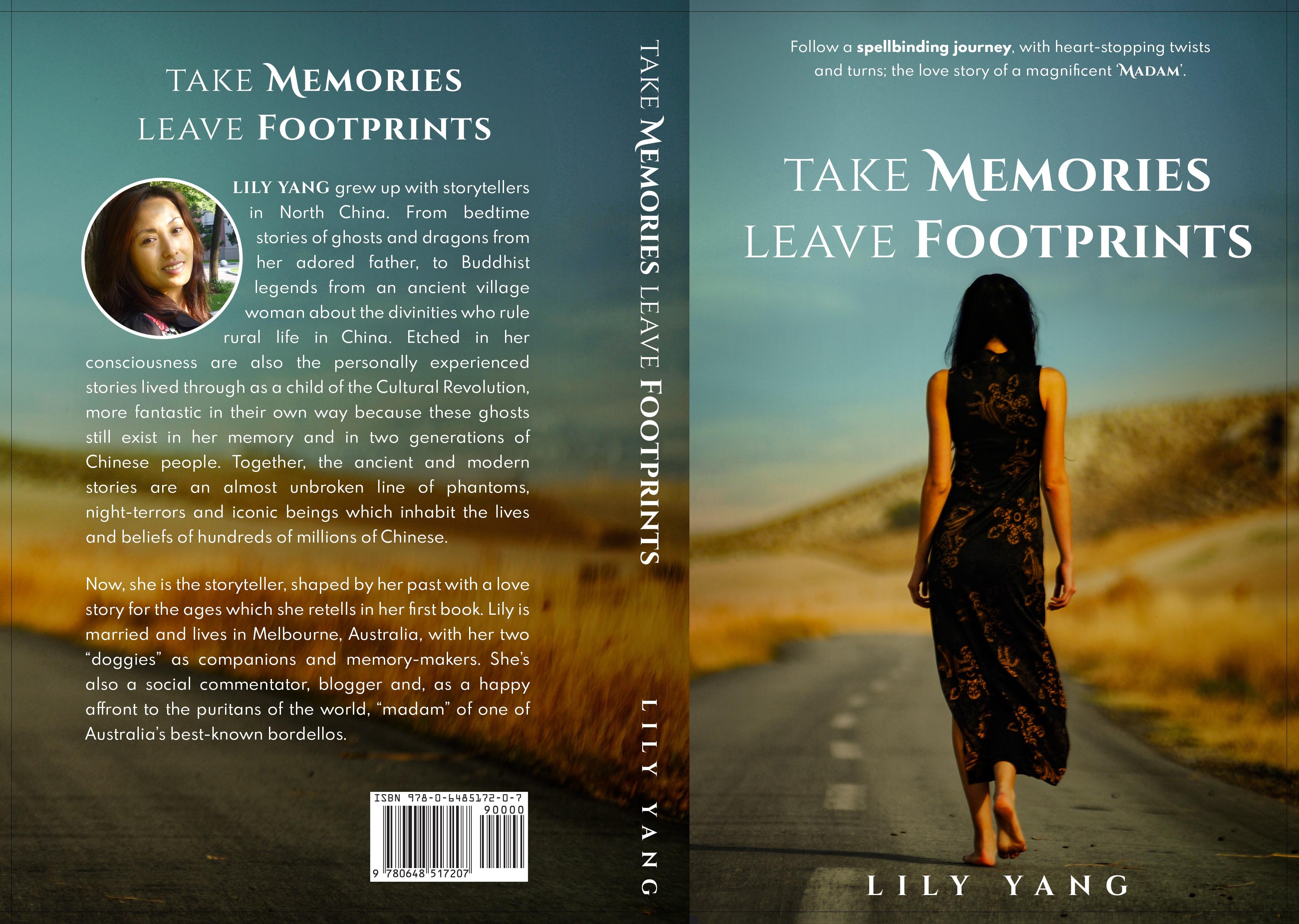"""Take Memories Leave Footprints"" Layout Re-Design"