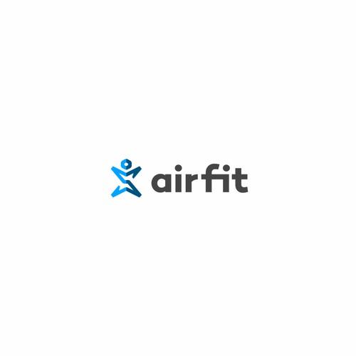 Logo concept for sport site.