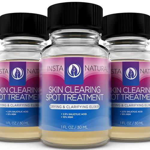Skin Clearing 3D Rendering