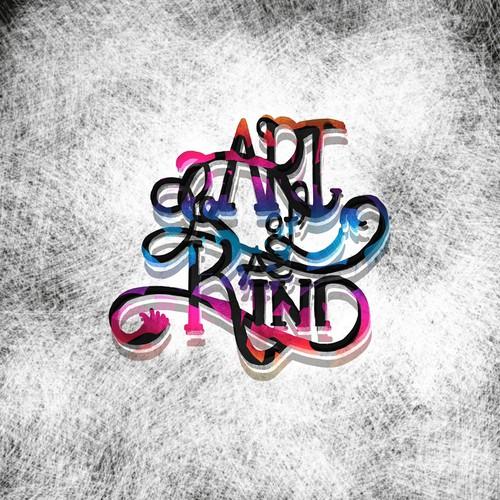 bold concept logo for art gallery
