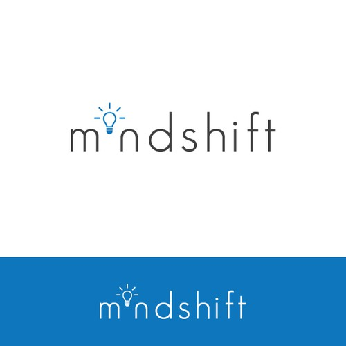 Create a simple logo for living an extraordinary life with MINDSHIFT!