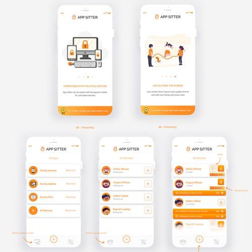 App Sitter | Mobile Device Management App