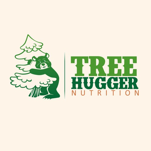 Tree-hugging Bear Logo