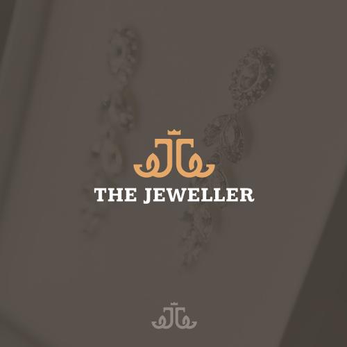 Elegant logo for online jeweler
