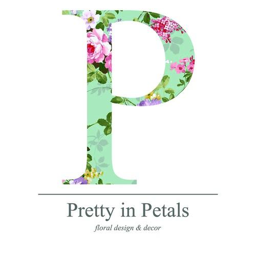 Floral logo concept for florist