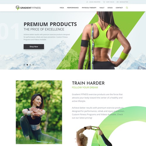 Premium Fitness and Yoga products
