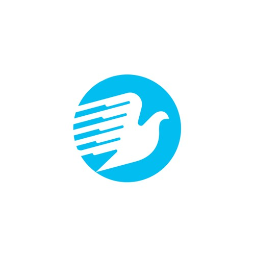 Flying Bird Logo Concept