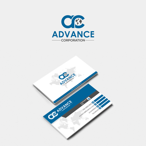 Business card Advance Corparation