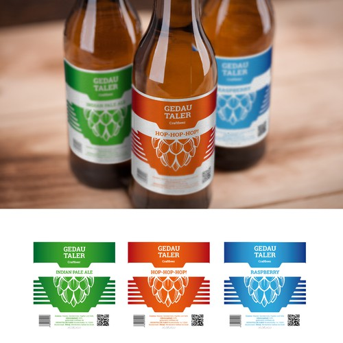Packaging design for Craftbeer