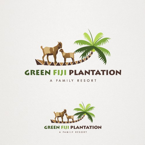 Logo for Green Fiji Plantation