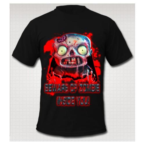 Kick-Ass Zombie Apocalypse Shirt Design