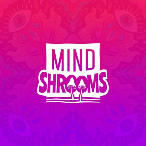 MindShrooms logo design