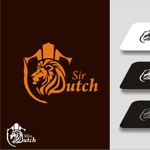 Logo for clothing brand Sir Dutch & Miss Dutch