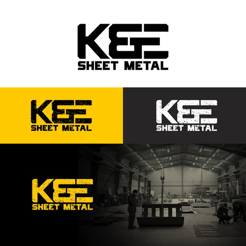 Logo concept for Sheet metal company