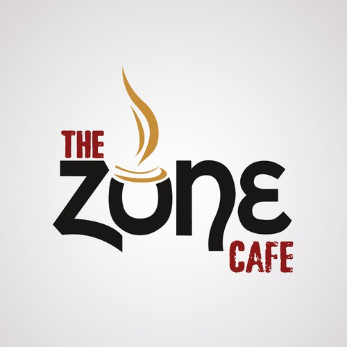 Create the next logo for The ZONE Cafe Sports Bar & Grill