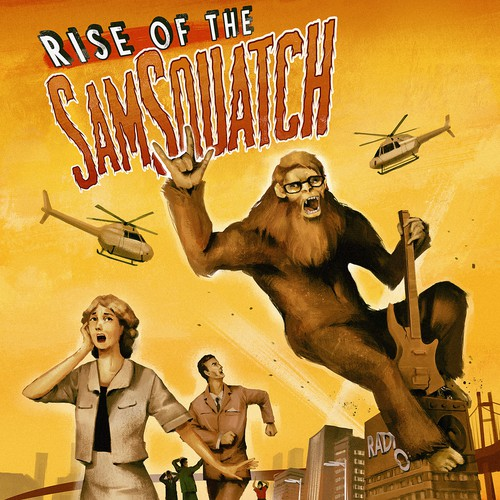 Rise of the Samsquatch Album Cover Entry