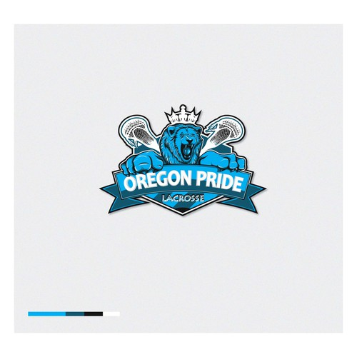 Cool logo for youth lacrosse team, Oregon Pride