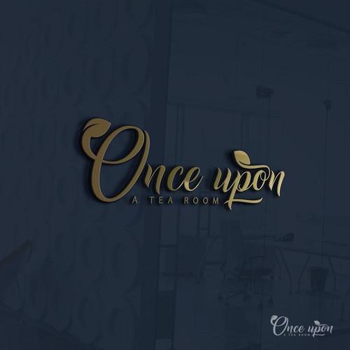 Once upon a tea room Logo