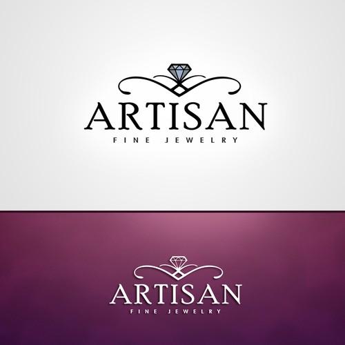 Elegant Jewelry Fashion Logo