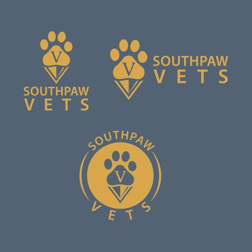 Logo for the modern neighborhood vet!