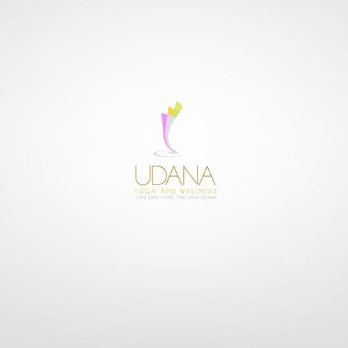 Logo Design for Udana Yoga and Wellness