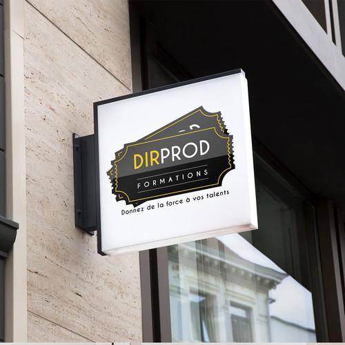 Création du logo de DIR PROD Formations