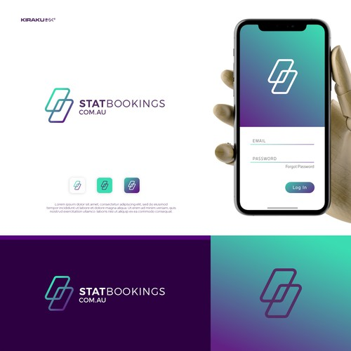 Stat Bookings Logo & Business Card