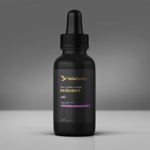 Cosmetic Bottle Design