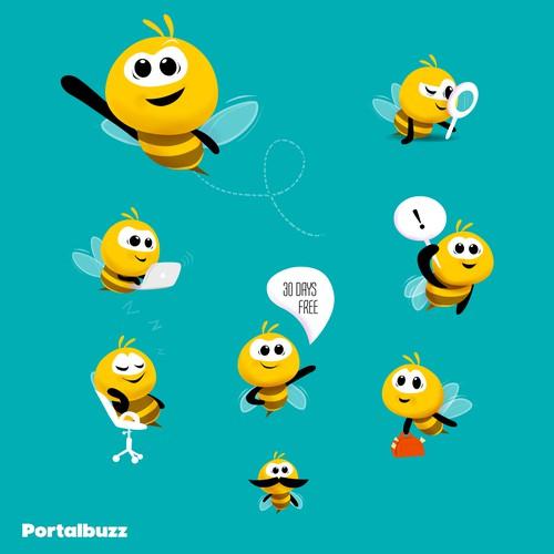 bee - mascot Design