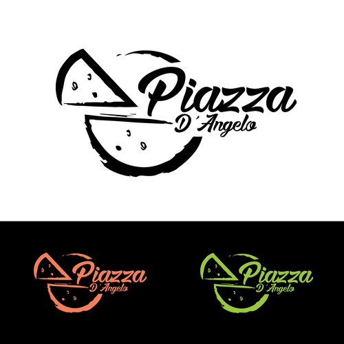 Logo design for Piazza D'angelo