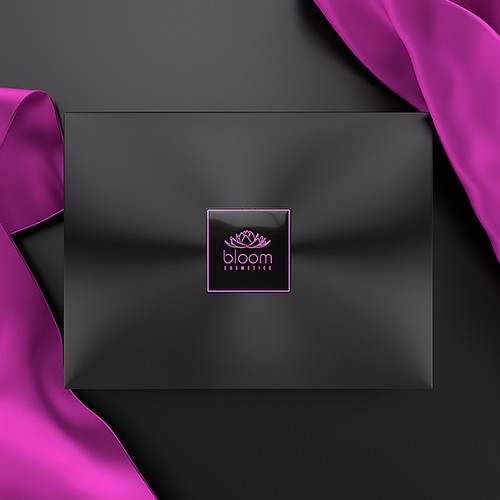 Elegant box design for cosmetics