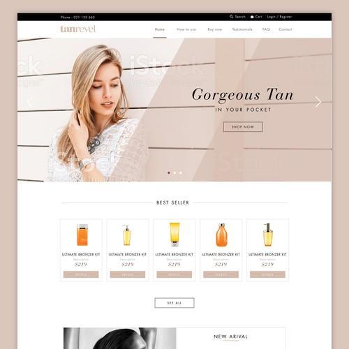Tan Ravel Web Design