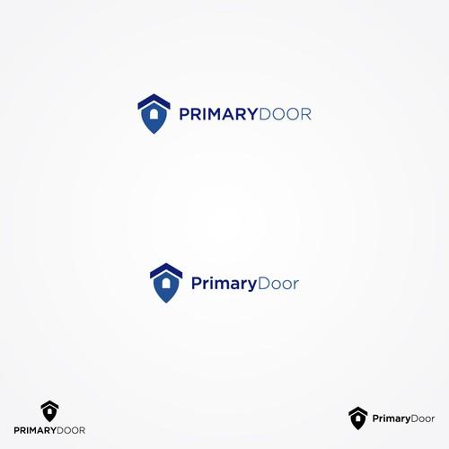 PrimaryDoor Logo Design