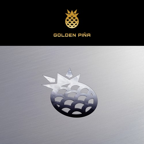 Logo Design for Golden Piña