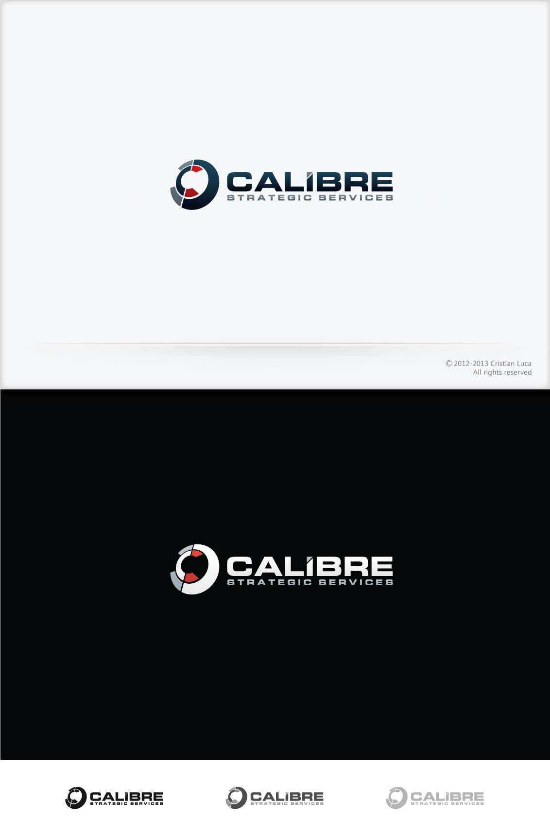 Help CALIBRE Strategic Services with a new logo
