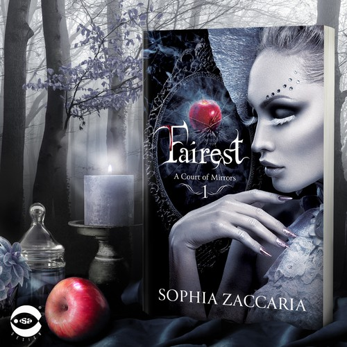 """Book Cover for """"Fairest"""" by Sophia Zaccaria"""
