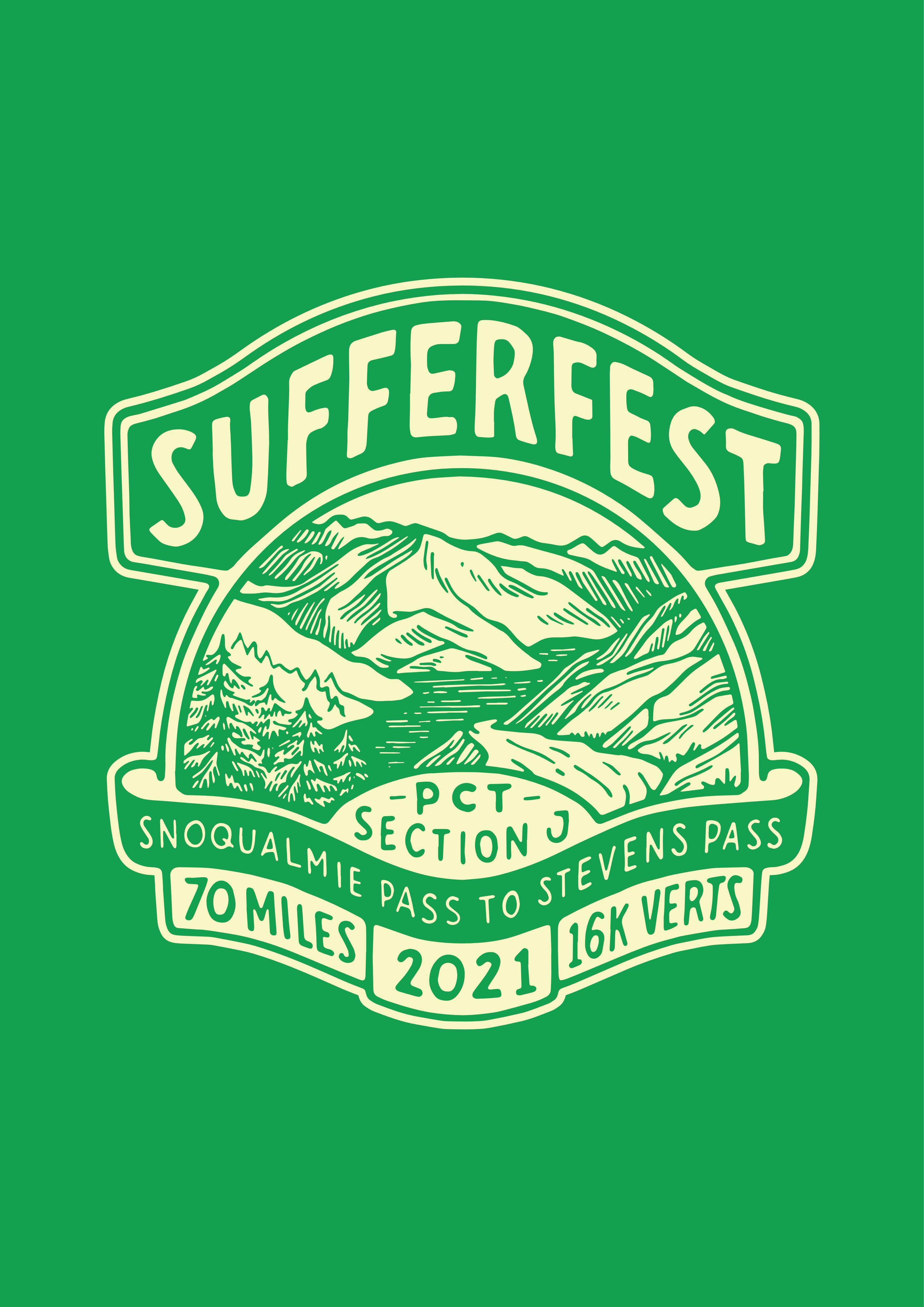 SUFFERFEST - PCT SECTION J