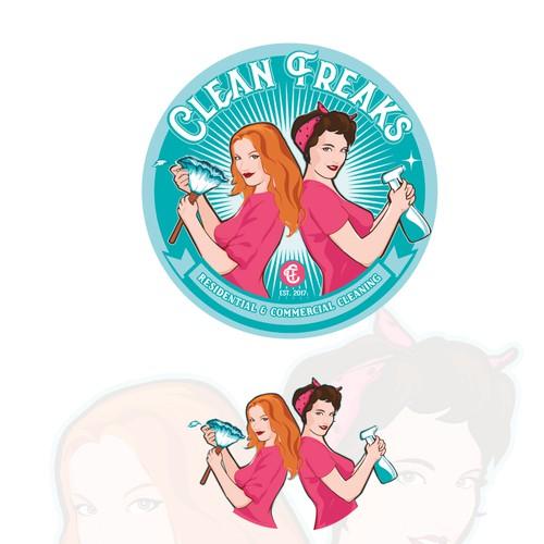 logo for Clean Freaks